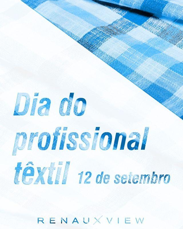 Dia do profissional têxtil