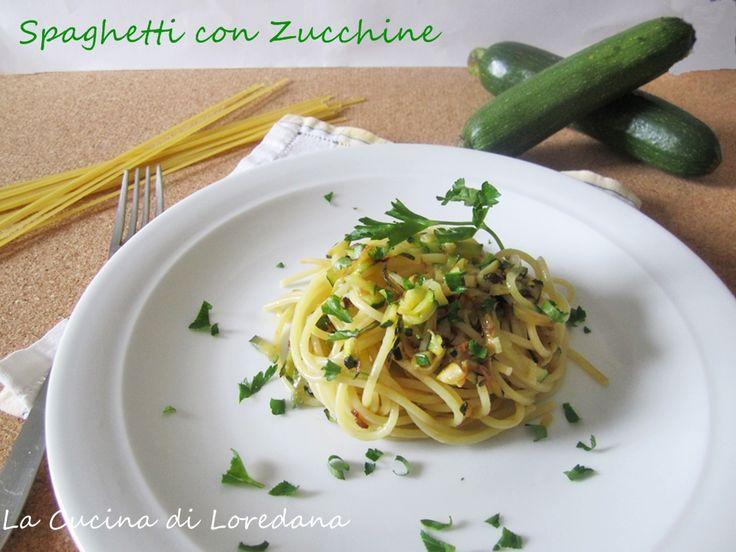 Spaghetti con Zucchine - Ricetta semplice