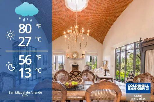 San Miguel de Allende Weather! Bit of rain! #weather #sanmigueldeallende #sma #gto #mexico