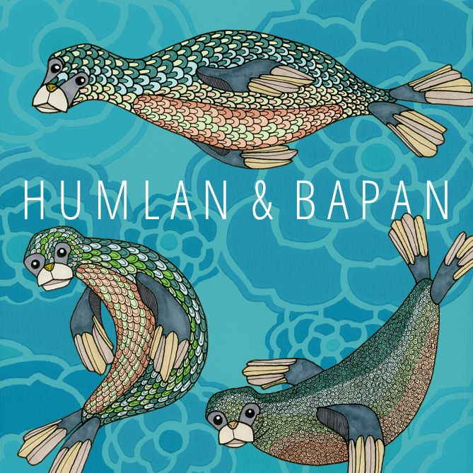 ~ Seal Illustration ~  ©Humlan & Bapan Artwork www.humlanbapan.se
