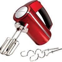 Morphy Richards 48989 Accents Hand Mixer In Metallic Red