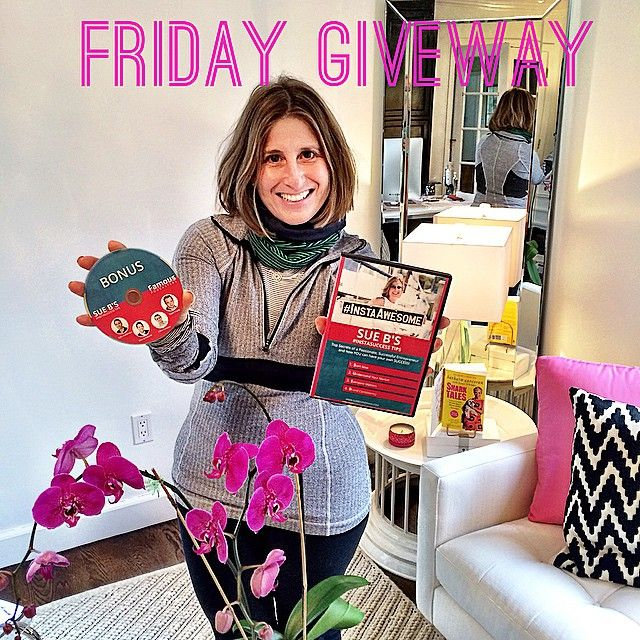 """Almost forgot about my SueB Friday Giveaway!  That's what happens when you loose track of time on vacation  This time my #InstaAmazing Sue B Success…"""