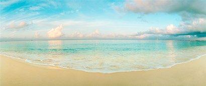Waves on the beach, Seven Mile Beach, Grand Cayman, Cayman Islands at FramedArt.com
