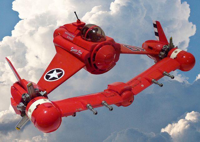 Scarlet Fury una aeronave muy experimental