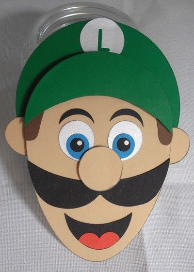 Luigi's Head by DiHere - Cards and Paper Crafts at Splitcoaststampers
