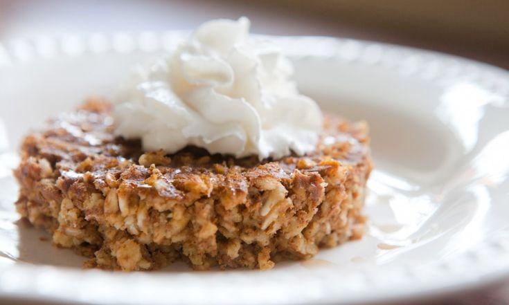 Pumpkin Pie Bake Oatmeal