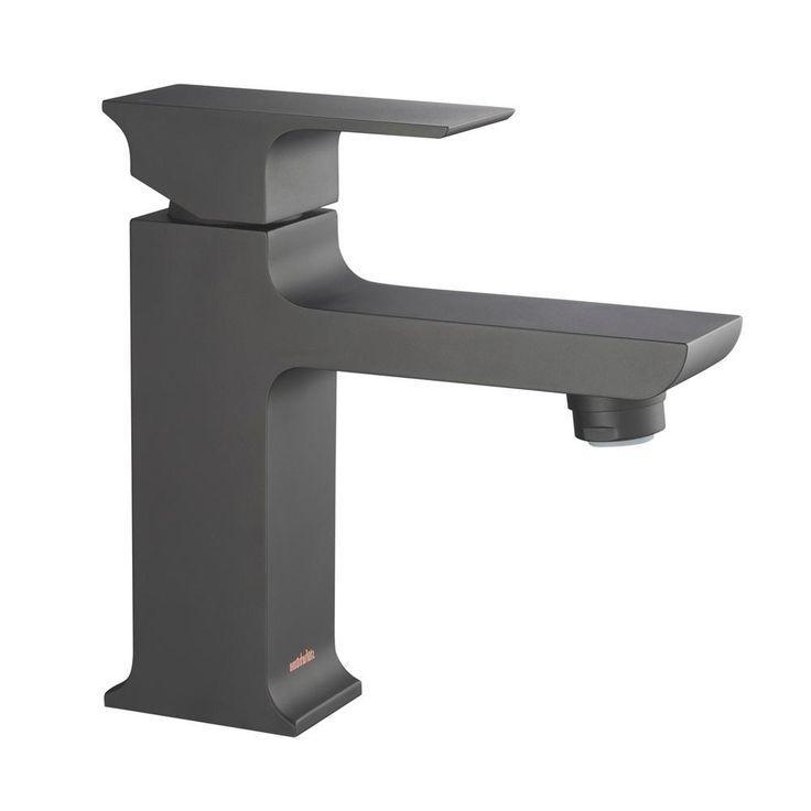 stufurhome adler single hole 1handle 12 gpm calgreen bathroom faucet in matte black