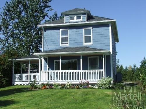 $149,900 158 Principale St, Memramcook, NB  Bright 3 bedroom, renovated home with 1.3 acres only 7 minutes from Dieppe. Main floor has two entrances: one from the covered veranda and another from a large mudroom located in back. #moncton #realestate #NewBrunswick #Martellrealty #buyingahome