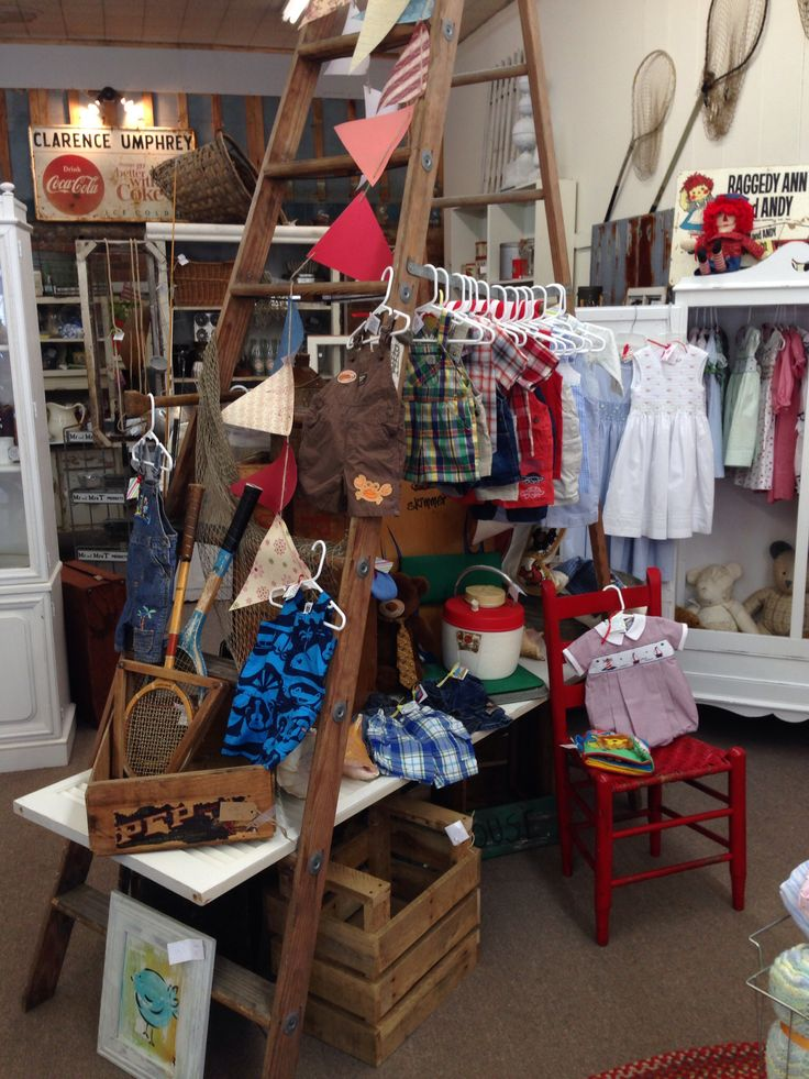Children S Clothing Display At Blossom Antiques Attalla