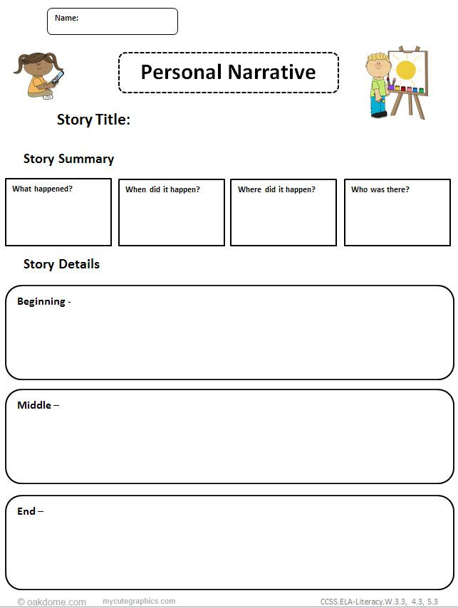 2 page personal narrative essay This two – three page essay assignment encourages students to move into the   them to draw conclusions about the value of a personal experience  page 2.
