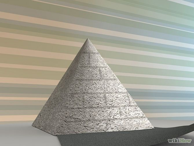 3 Ways to Build a Pyramid for School - wikiHow