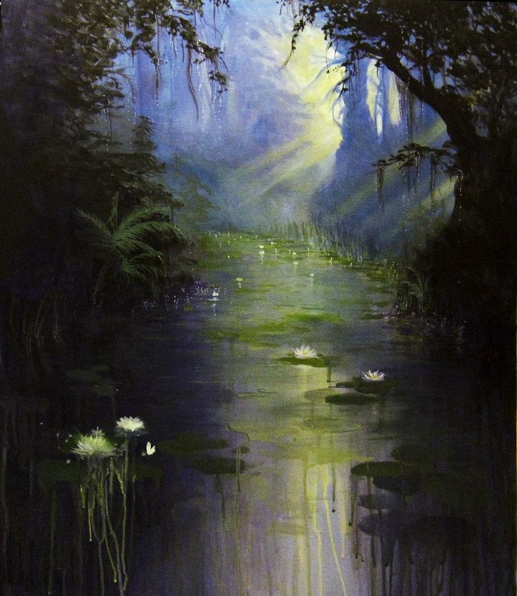 ".Alone In My Dreams.  22 X 28 ""  Acrylic on Canvas https://www.facebook.com/Lori.Gilbert.Art?ref=ts"