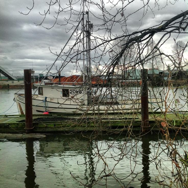 Fraser river Vancouver
