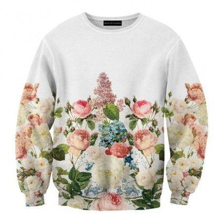 Vintage Flowers sweatshirt