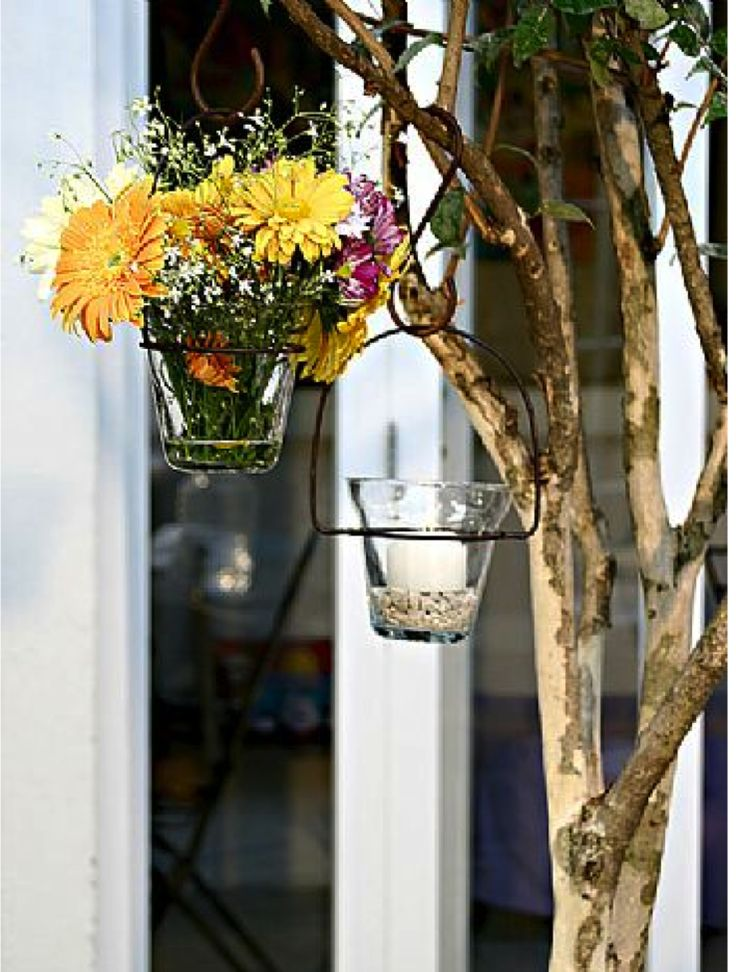 415 Best Images About Flowers Baskets amp Wood On Pinterest