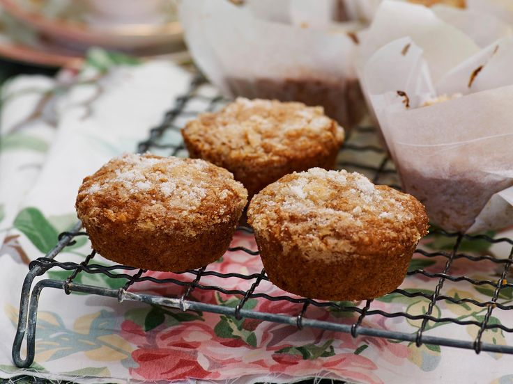 Delicious feijoa, lemon and coconut muffins that are great for a picnic basket, or as an anytime snack!