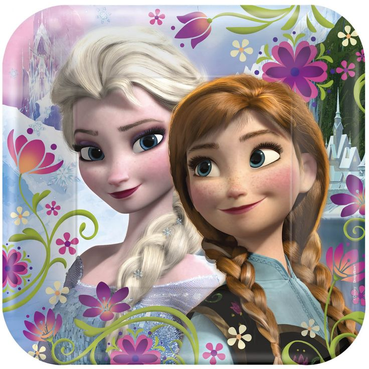 Cool Party Supplies Disney Frozen Square Dinner Plates just added...