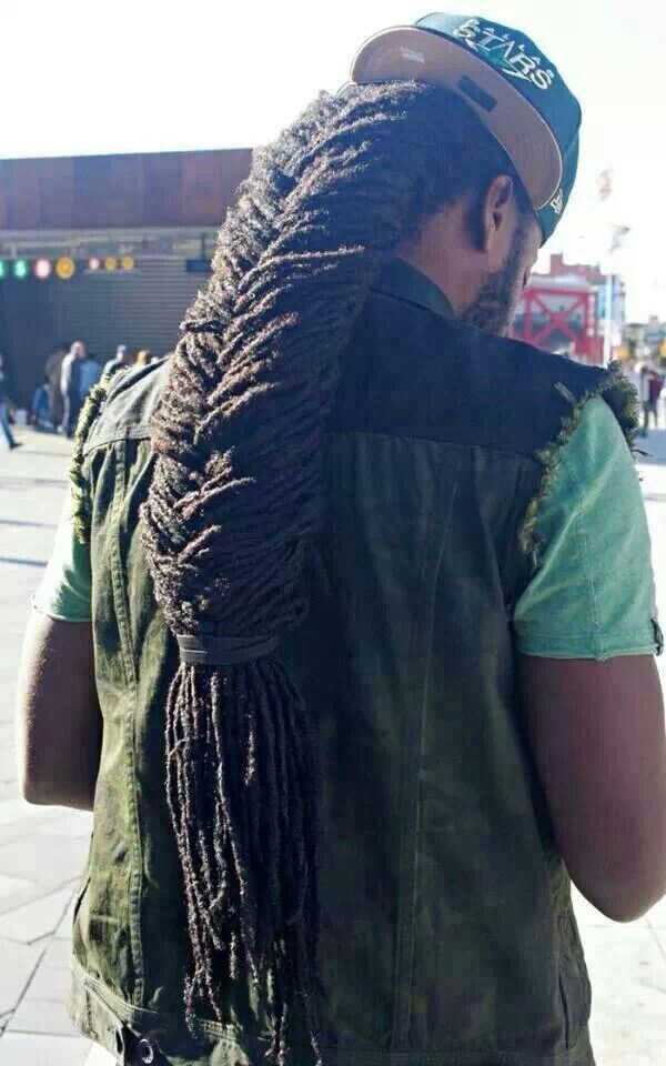 Very Long Fish Tail Locs All Things Locs Pinterest