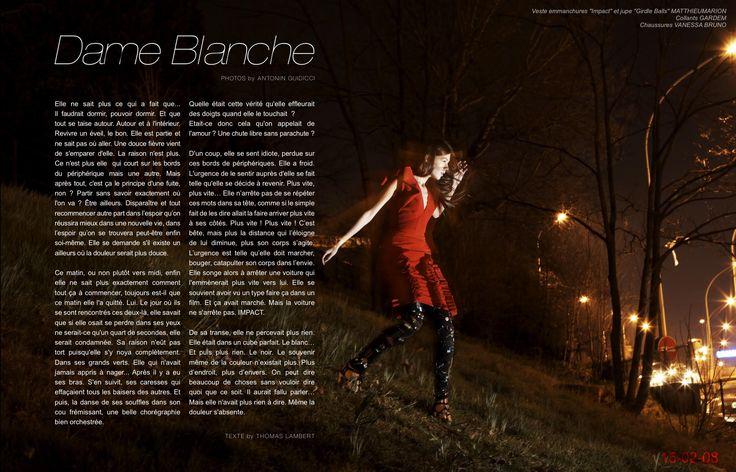 Raise Magazine Issue #1 DAME BLANCHE