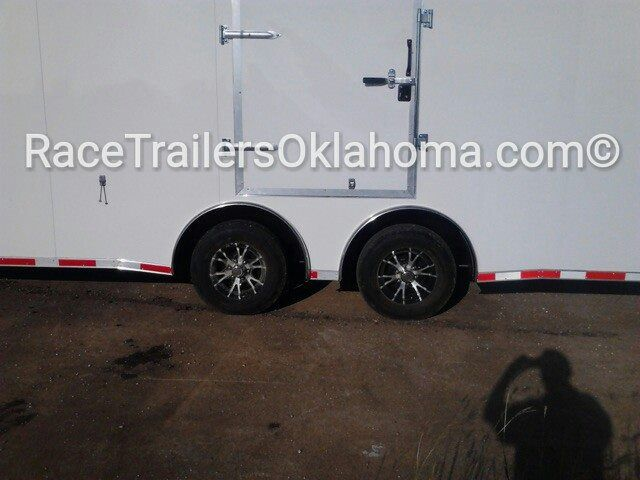 Race Trailers Oklahoma  Split Axle Car HAULER RACE CAR TRAILER, EXTRA TALL Generator package anodized corners radials led's electrical pkg racers interior rubber coin  Lark Race Trailers, United Manufacturer Super Hauler,  Haulmark Edge Pro , Hitch It Trailers  5866 S. 107th E. Ave  Tulsa, OK 74146  918-286-7900  www.RaceTrailersTulsa.com  www.RaceTrailersOK.com   www.RaceTrailersOklahoma.com www.facebook.com/