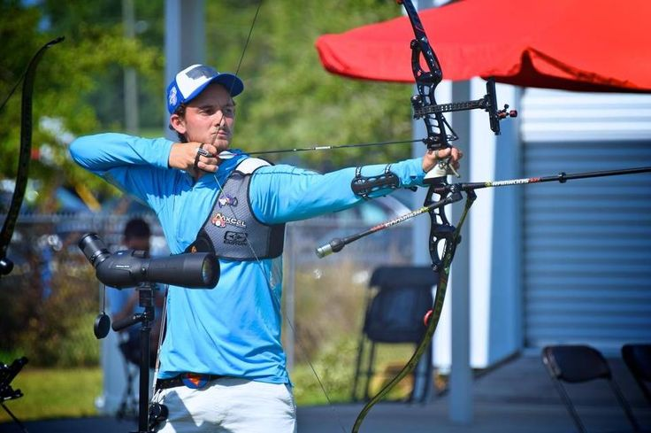 Zach Garrett had to tape over his Royals hat, but that didn't stop him from making the U.S. Olympic archery team.