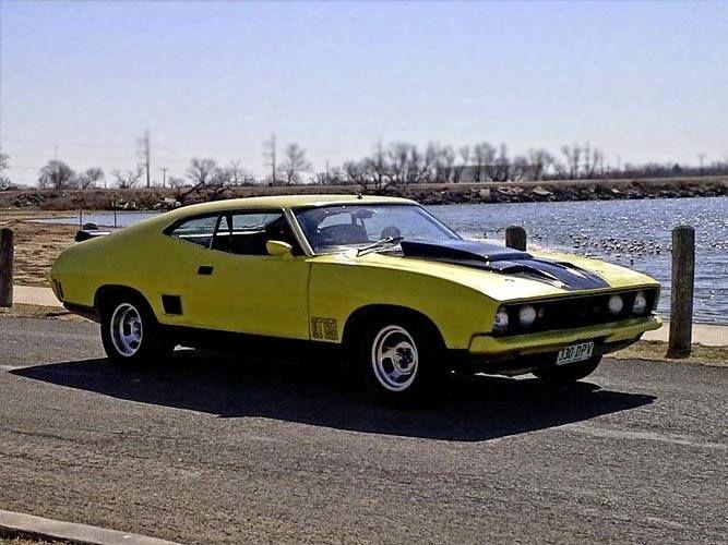 1974 Australian Ford Falcon XBGT AKA Mad Max Machine