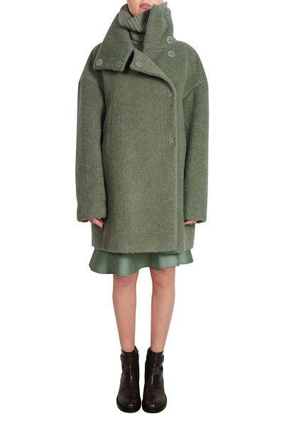 Nett wintermantel damen grün