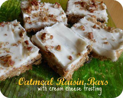 Oatmeal Raisin Bars - OH MY! - The Better Baker