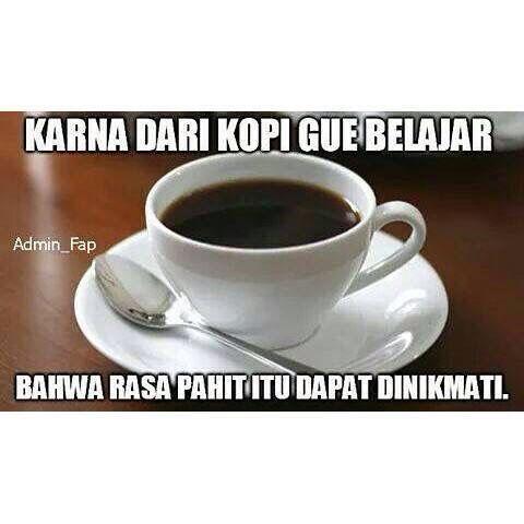 Terima Kasih kopi hitam buat pelajarannya ☕️