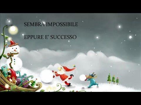 Il pupazzo di neve - Canzoni natalizie con testo