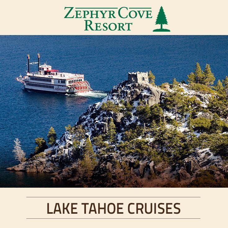 With lodging, cruises, snowmobiling, horseback riding, direct beach access, a marina, dining and endless activities, Zephyr Cove Resort & Lake Tahoe Cruises is a great base for visiting Lake Tahoe.