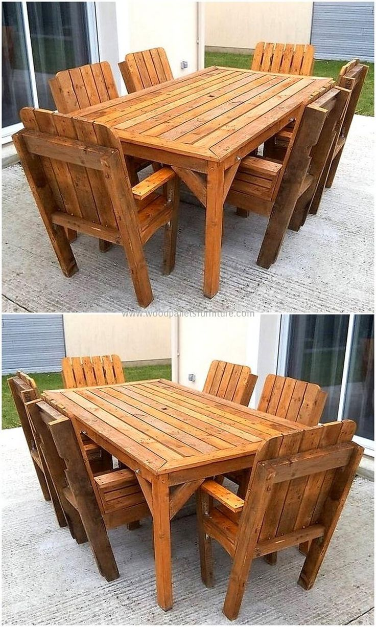 Simple And Easy Pallets Recycling Ideas 445