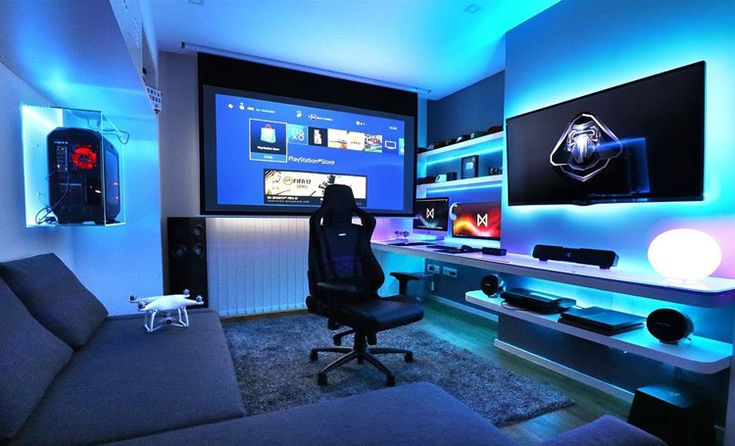 40 Finest Video Recreation Room Concepts + Cool Gaming Setup (2019 Information)