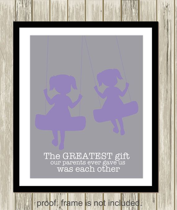 Wall Art Quotes For Sisters : Best twin sister quotes on