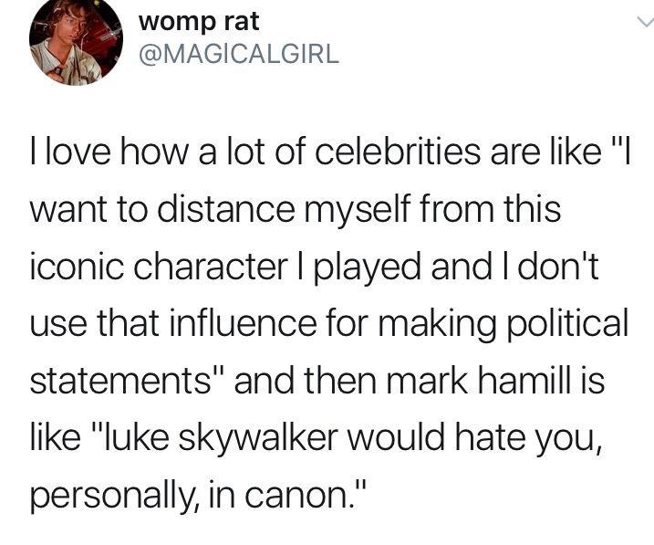 I Love Mark So Much Star Wars Memes Mark Hamill Star Wars