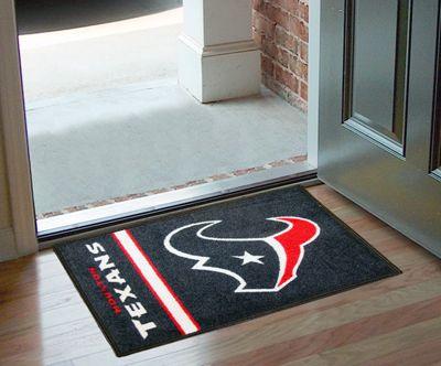 Houston Texans Uniform Starter Carpet Area Rug Door Floor Mat Game Room Bar New