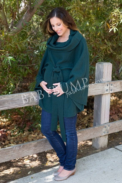 Isabella Oliver Luxe Tie Maternity Sweater