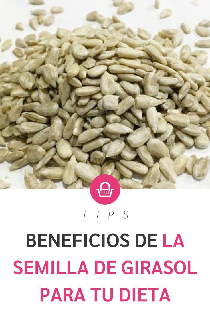 Las semillas de girasol son perfectas para tu salud, ¡te decimos por qué! Pink, Deserts, Recipes, Sunflowers, Baskets, Wellness, Magick, Diet