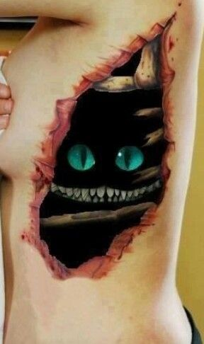 Creepy 3d tattoos                                                                                                                                                                                 Mehr