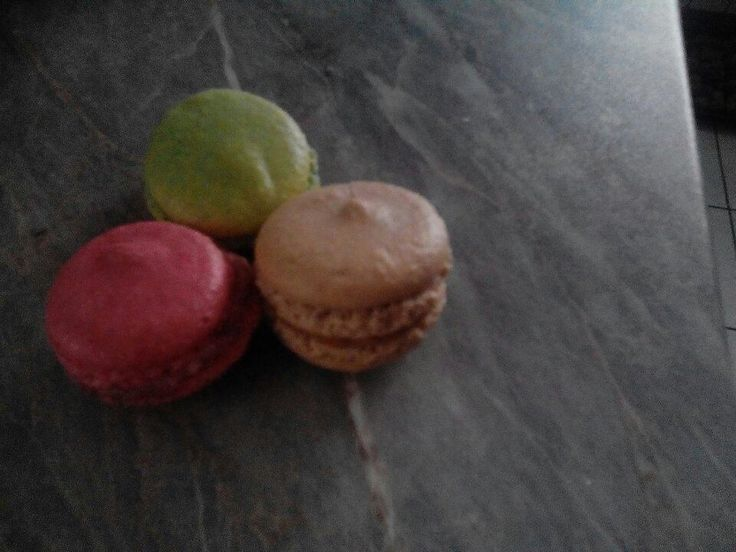 Macarons.I love it since I was in Paris last Semtember. These are from Czech-French bakery in my hometown