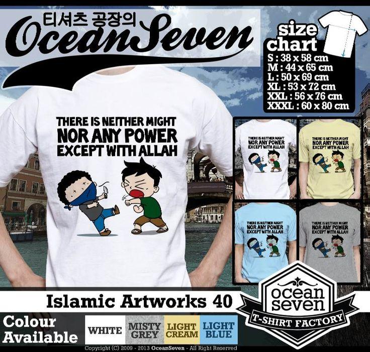 Kaos Distro kartun Islam | Islamic Artworks 4