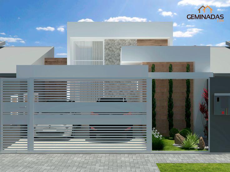 25 melhores ideias de plantas de casas estreitas no for Casa moderna 6x6