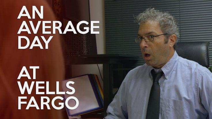 Just an average day at Wells Fargo Bank #humor #funny #lol #comedy #chiste #fun #chistes #meme