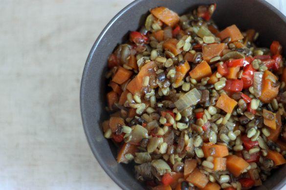 lentejas con zanahorias al curry