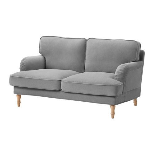 IKEA The cover is easy to keep clean as it is removable. STOCKSUND Loveseat cover, Ljungen gray $239.00 Article Number: 703.217.76