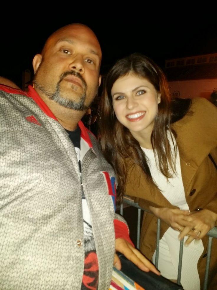 Will The Autograph Guy: Meeting True Detective Star Alexandra Daddario! Ph...