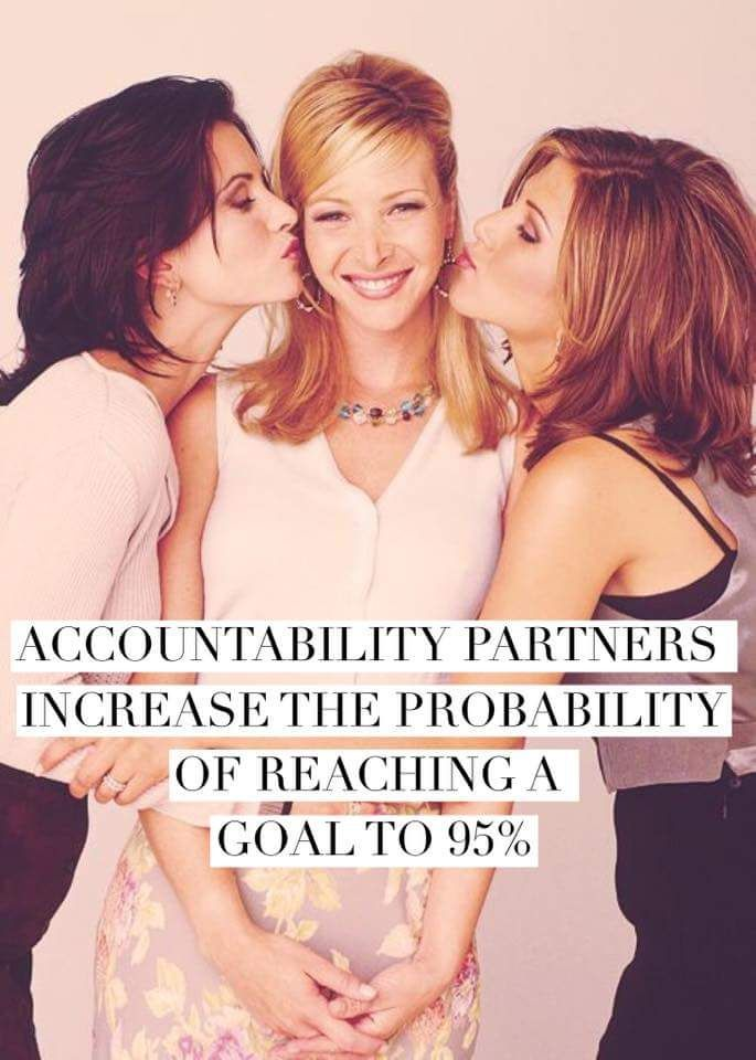 You are much more likely to meet your goals if you have a friend by your side doing it with you. I know I need encouragement every single day and my accountability partners help TREMENDOUSLY! If you're sick of trying again and again and never seeing results, try this: ✔️Grab a friend! ✔️Motivate each other! ✔️ SEE RESULTS TOGETHER!