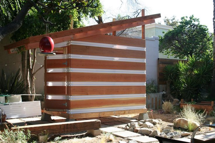 Solar Powered Garden Shed by Jeremy Levine