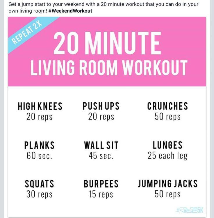 25 B Sta Living Room Workout Id Erna P Pinterest