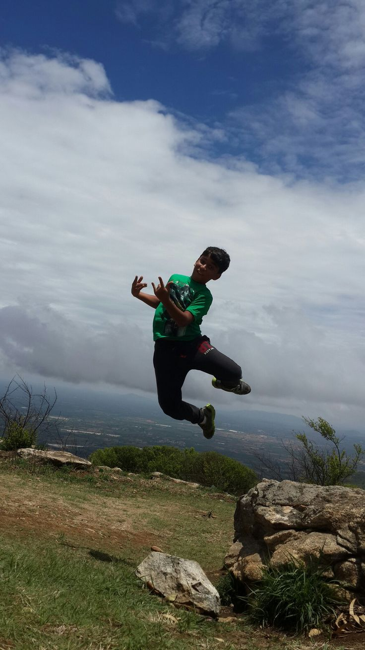 Arjun the joker shot by me @ nandi hills near namma Bengaluru